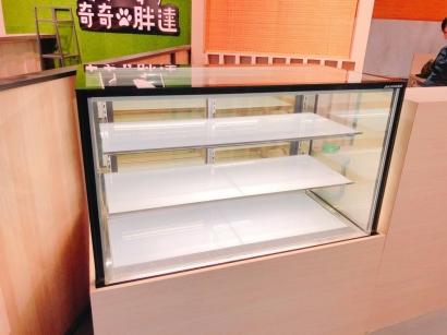 直角4尺3層蛋糕展示櫃
