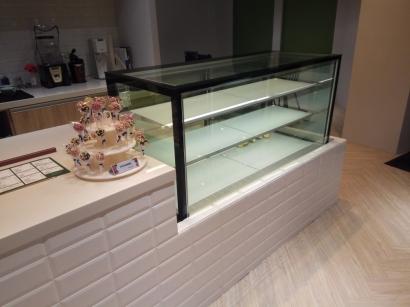 直角5尺3層蛋糕展示櫃