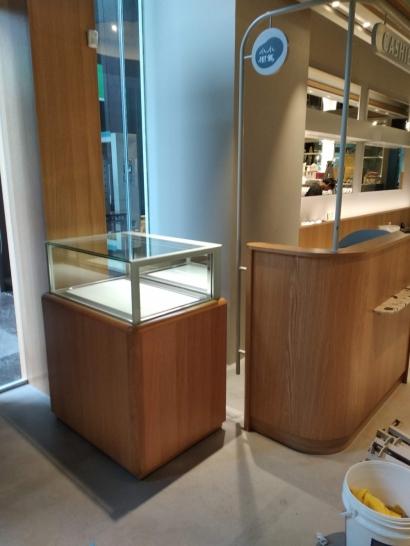 珠寶型抽屜層單層.儲藏展示櫃2.5尺