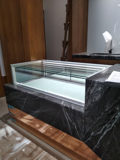 珠寶型抽屜層單層.儲藏展示櫃4尺